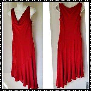 S.L. Fashions Red Dress